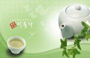 傳統茶道文化宣傳模板