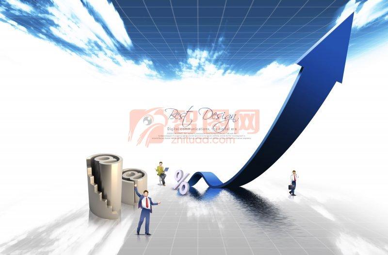 商务海报设计模版