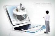 科技商务创意海报