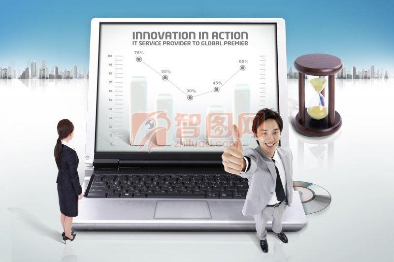 INNOVATION商務海報設計
