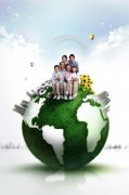 环保创意 商务
