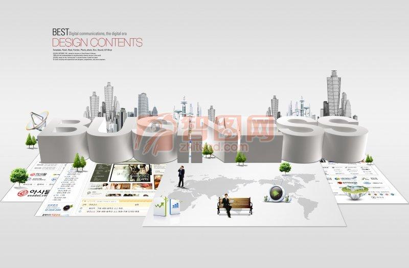 商务创意模板素材