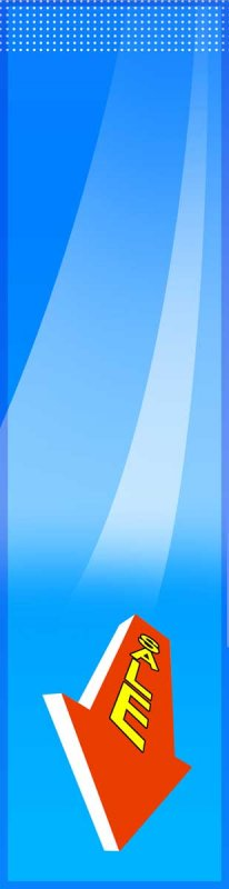 藍色背景展板