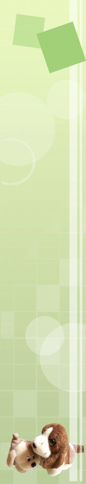 淡绿色背景展板设计