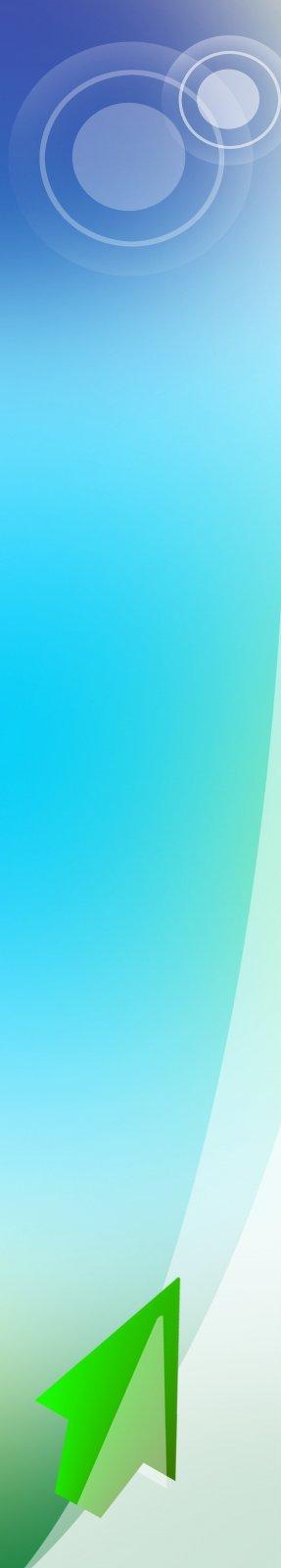 ps分层专区 广告设计 展板模板  关键词: 蓝色背景 白色元素 绿色箭头