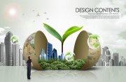 商务环保创意