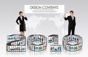 商务创意内容模板