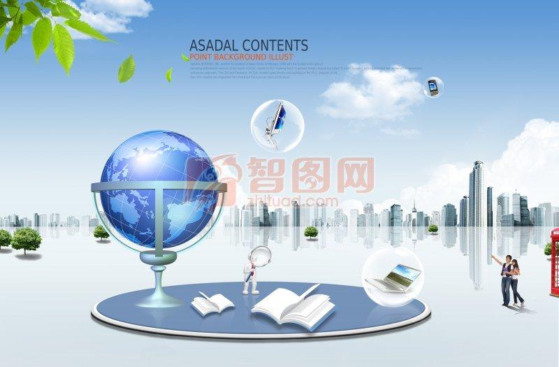 全球创意商务广告素材