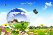 自然风景元素海报