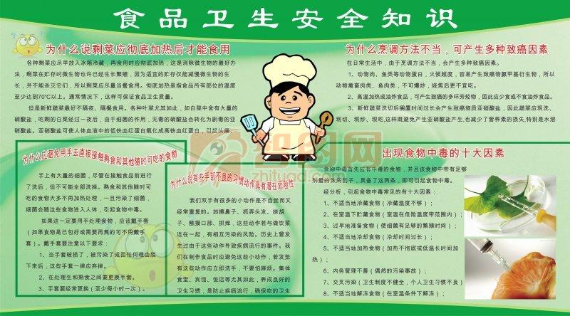 食品卫生安全知识模板图片