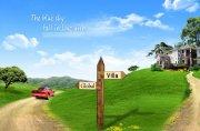 自然风景海报