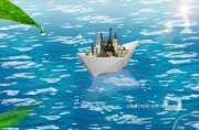 大海带绿叶海报