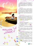 蜜月旅行DM宣傳單