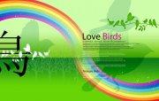 愛鳥系列素材