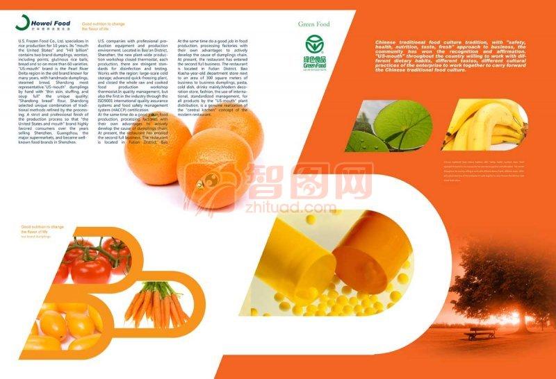橙子健康素材