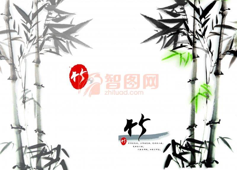 竹林系列素材