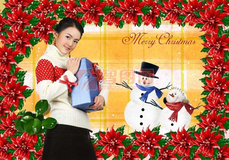 圣诞节宣传海报模板