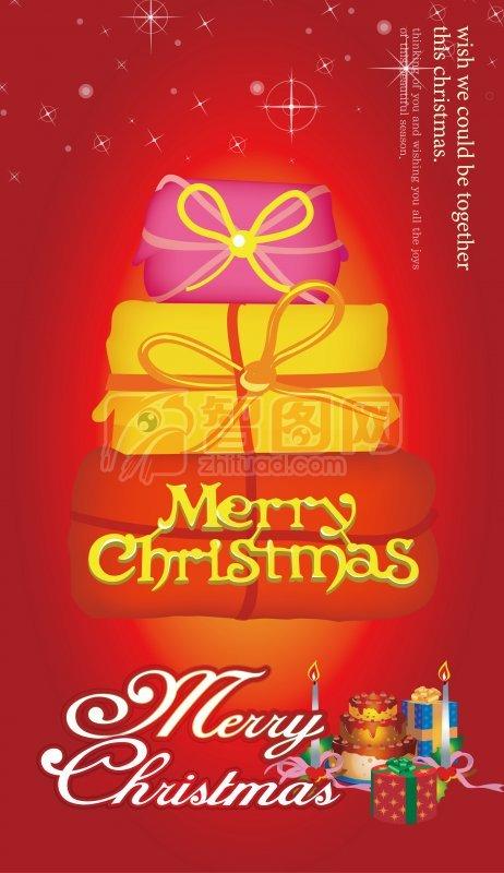 圣誕節海報設計