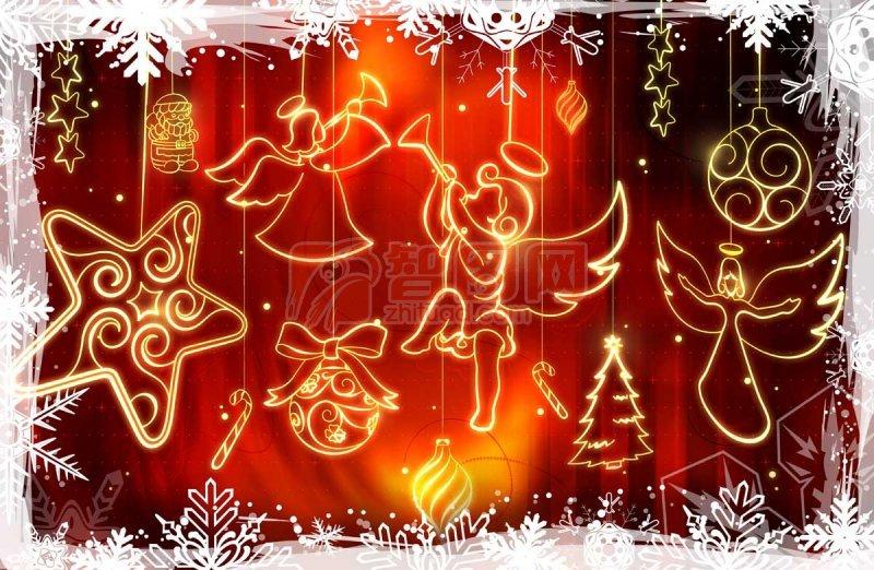 圣诞节喜庆海报