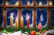 圣诞节那晚的窗台