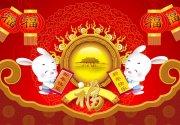 大红背景素材 春节背景图案