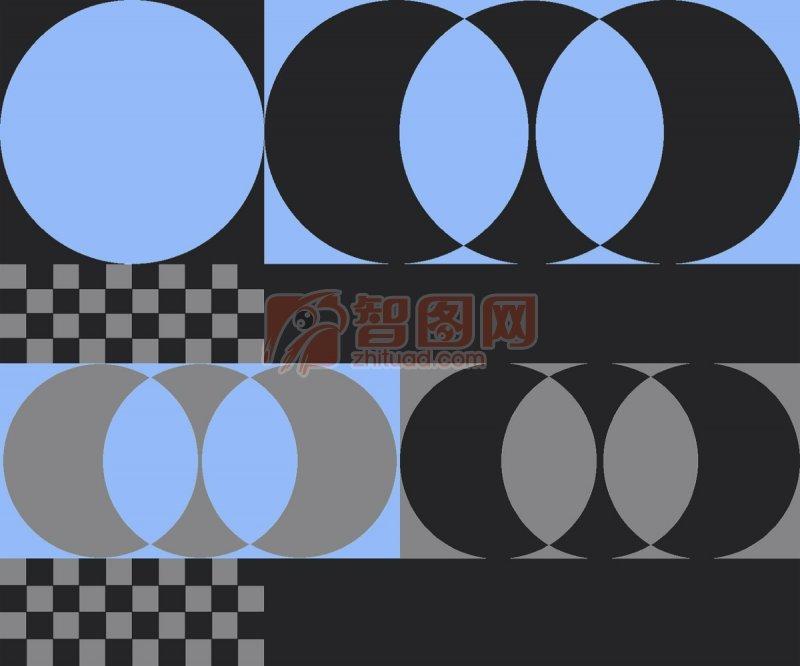 幾何花紋背景
