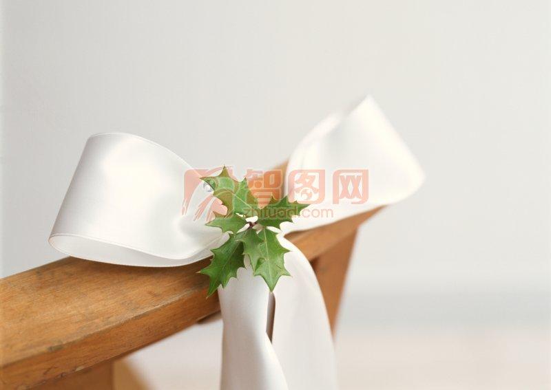 白色蝴蝶结