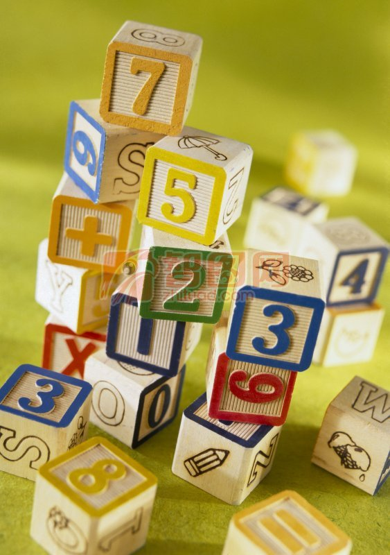 字母数字积木 木制积木