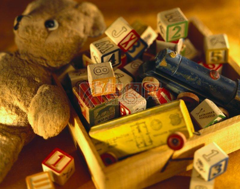 积木 骰子积木 布娃娃