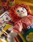 布娃娃 金色頭發娃娃 洋娃娃