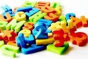 字母玩具素材