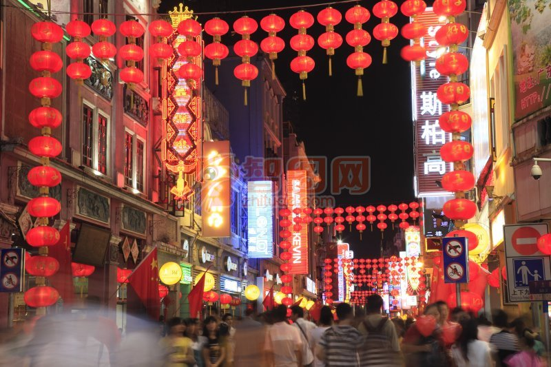 广州图片029-上下九步行街