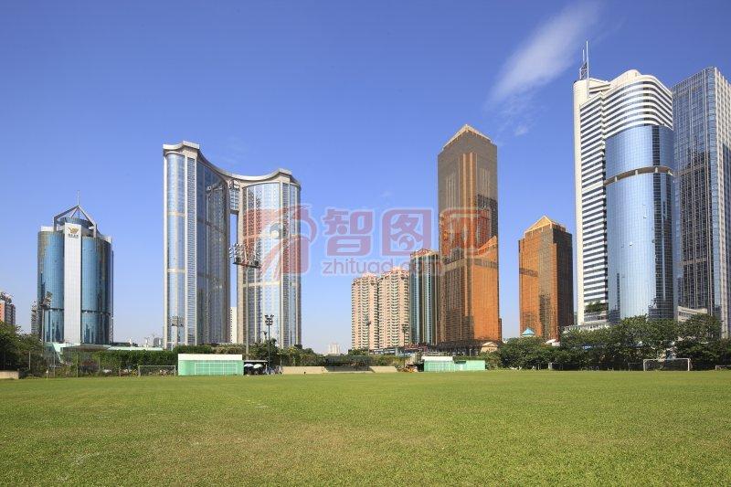 广州图片032-天河建筑群