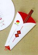 筷子邀請素材