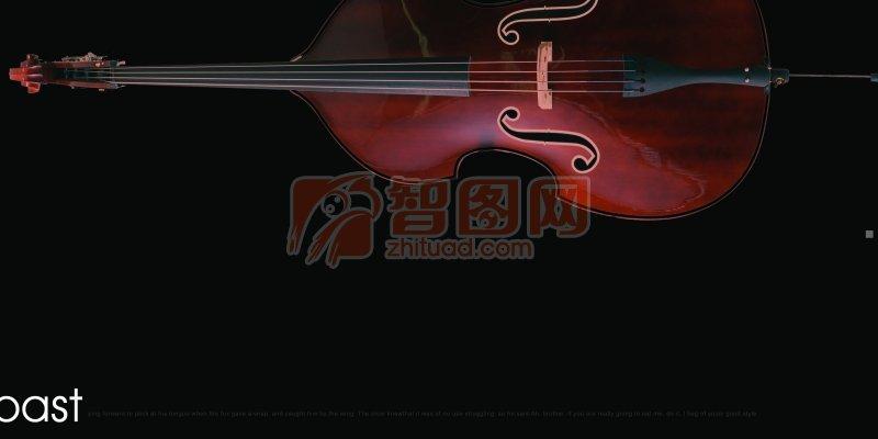 琴画册版式设计