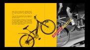 运动自行车画册版式设计