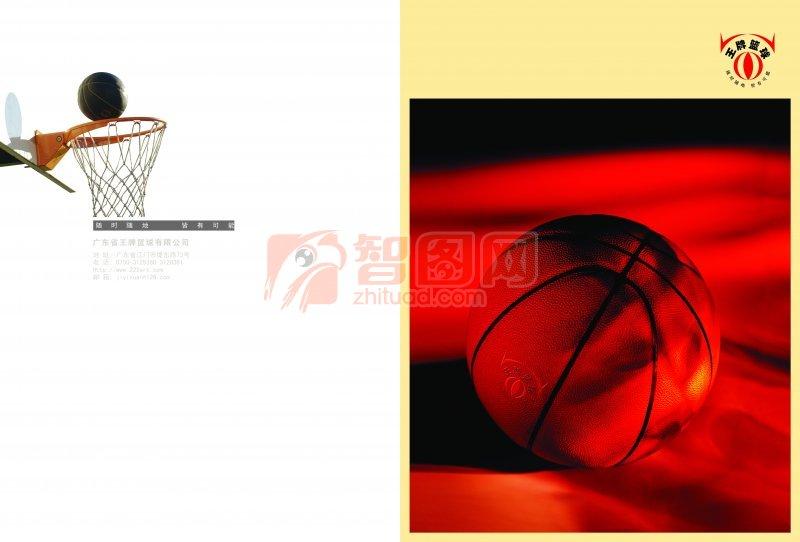 王牌篮球画册版式