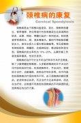 颈椎病知识展板