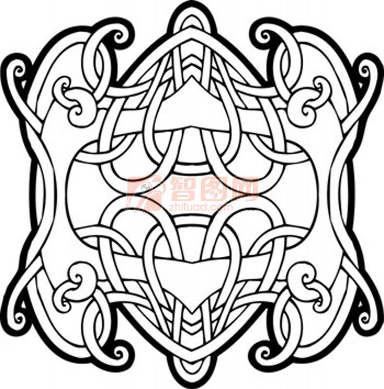 裝飾花紋模板