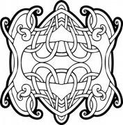 装饰花纹模板