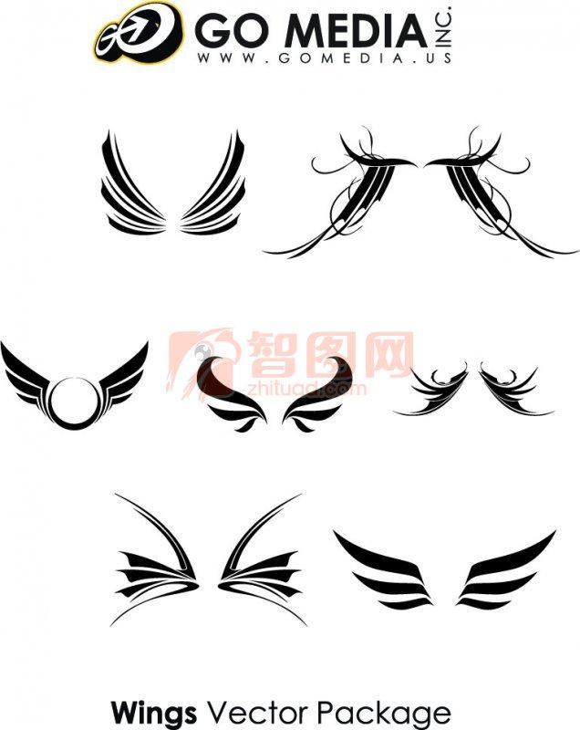 美术翅膀设计