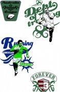绿色体育元素