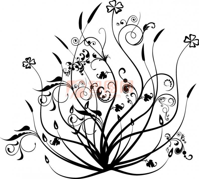 创意线条画 手绘