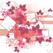 粉色幾何圖案