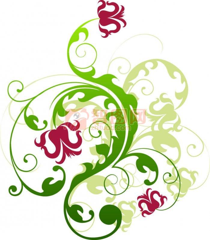 绿色渐变素材