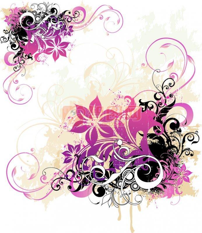 紫色渐变素材