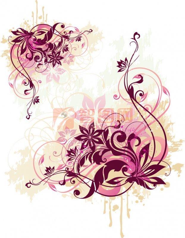 关键词: 烟雾样紫色素材 紫色彩带 紫色边框素材 紫色花纹边框 紫色