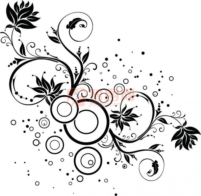 黑色花纹设计 上一张图片:   礼物花纹设计 下一张图片:紫红色花纹