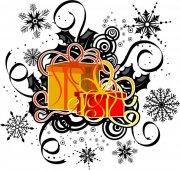 礼物花纹设计