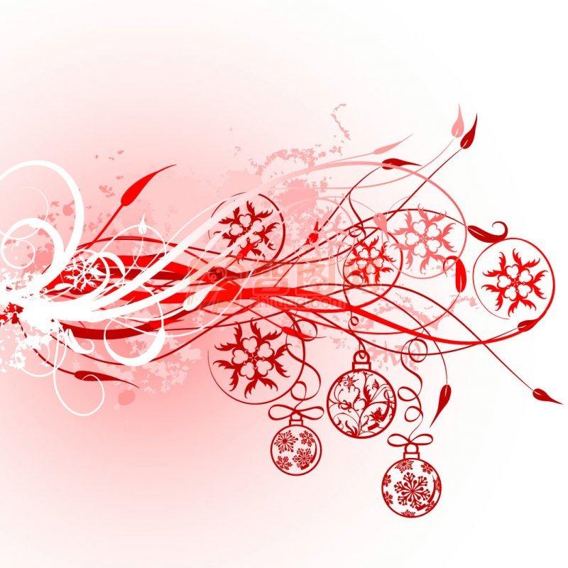 淡红色花纹设计